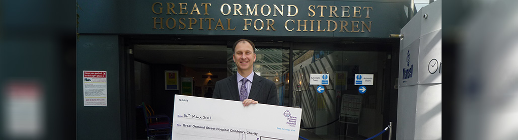 Dilaps UK Donates To Great Ormond Street Hospital